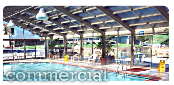 Custom-Engineered Commercial Pool Enclosure