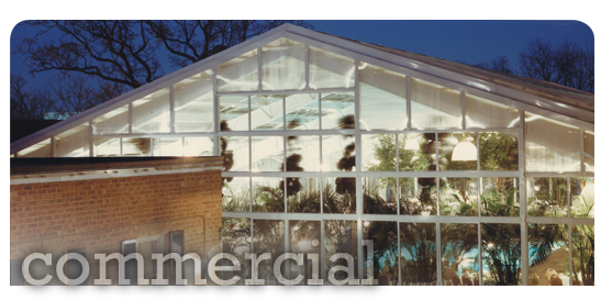 Garden Enclosures for Commercial Buildings