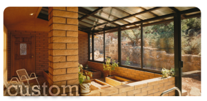 custom spa enclosures