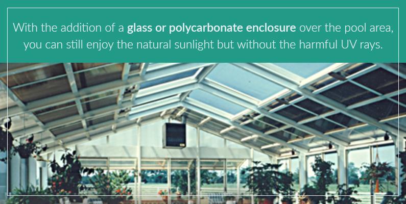 Pool Enclosures Can Help Block Harmful UV Rays